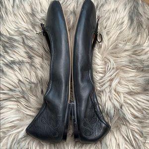 Sam Edelman Shoes - Sam Edelman Felicia Ballet Black Leather Flats